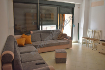 One bedroom apartment for rent in Delijorgji complex in Tirana, Albania.