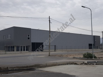 Warehouse for rent in Egnatia street near Rinas crossing-road in Tirana.