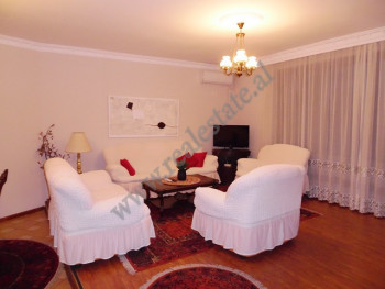 Two bedroom apartment for rent in Petro Nini Luarasi street in Tirana, Albania.
