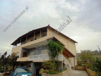 Three storey villa for sale near TEG shopping center in Tirana. It has total land surface of 1000 m
