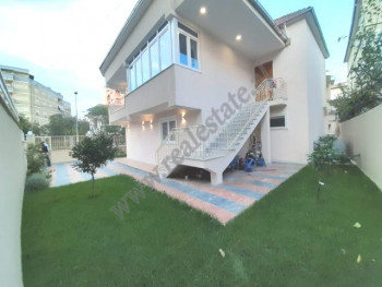 Three storey villa for rent in Isuf Elezi street in Tirana, Albania. The villa has a surface of 480