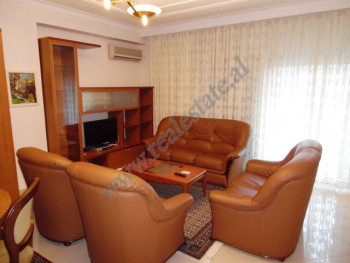 Two bedroom apartment for rent in Ismail Qemali street in Tirana, Albania. It is located on the fou