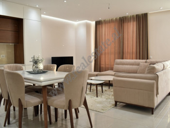 Two bedroom apartment for rent near Dritan Hoxha Street in Tirana. It's situated on the eight