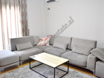 Two bedroom apartment for rent in Don Bosko street, in Tirana.  Positioned on the 5th floor of a n