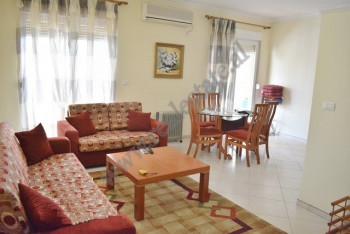 Two bedroom apartment for rent in Rreshit Collaku Street in Tirana.