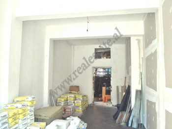 Store for rent near Sami Frasheri School, in Barrikadave street, in Tirana, Albania.