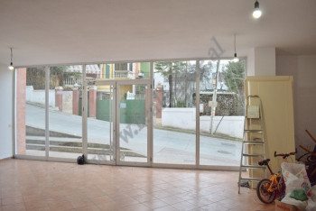 Store space for rent in Peti street in Tirana, Albania.