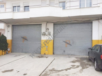 Warehouse for rent in Selim Brahja street in Tirana, Albania.
