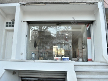Store space for rent near Kinostudio area in Tirana, Albania.