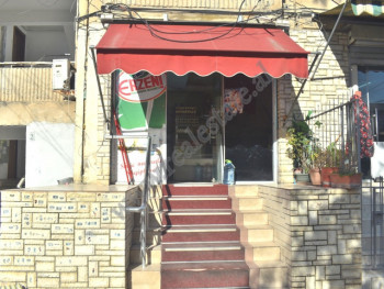 Store space for sale close to 1 Maji school in Tirana, Albania.