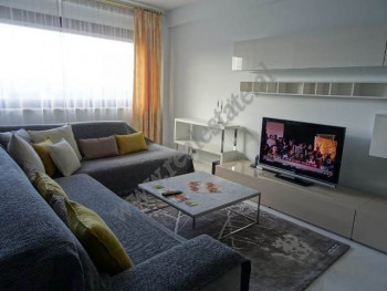 Three bedroom apartment for rent in Abdi Toptani Street, very close from Tirana city centre.