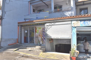 Store space for rent in Metrush Luli street in Tirana, Albania. It is located on the ground floor o