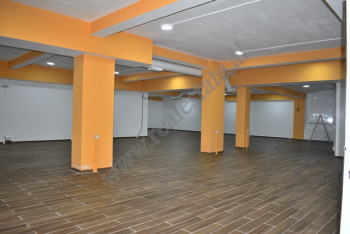 Store space for rent in Muhamet Deliu street in Tirana, Albania. It is located on the underground f