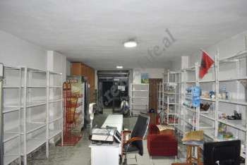 It is offered store space for rent near Kristal Center in Tirana, Albania. It is located on t