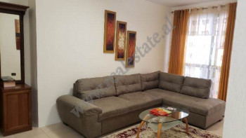 Two bedroom apartment for rent in Lidhja e Prizrenit Street in Tirana. The apartment is located on