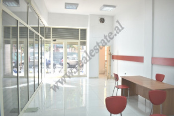 It is offered office space for rent in Bogdaneve street in Tirana, Albania. The store is loc