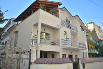Three storey villa for rent in Prokop Mima street in Tirana, Albania.