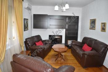 Two storey villa for rent in the German Villas area, in Fuat Toptani street in Tirana.  The villa