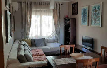 Four-bedroom apartment for rent in Abdyl Frasheri Street in Tirana, located next to the Presidency.