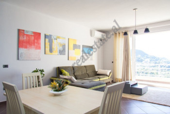 Duplex modern apartment for rent in Kodra e Diellit Residence in Tirana.  The apartment is situate