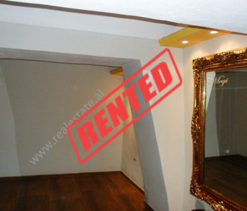 Store space for rent in Fortuzi Street in Tirana.  The store is located on the first floor of an e