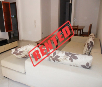 Two bedroom apartment for rent in Kolombo Street in Tirana.  The apartment is situated on th
