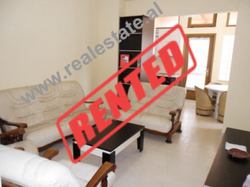 Two bedroom apartment for rent in Reshit Collaku Street in Tirana. The apartment is located on the s