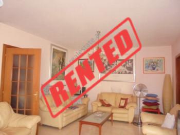 Apartament 1+1 me qera ne Tirane, ne rrugen e Bogdaneve.  Pozicionohet ne katin e 8-te te nje pall