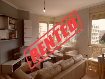 Two bedroom apartment for rent close to Asim Vokshi Street in Tirana.  The apartment is situated o