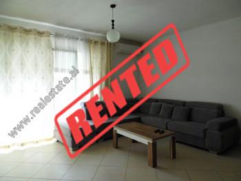 Apartament 1+1 me qera mbrapa Ring Center ne Tirane.  Ndodhet ne katin e 6-te ne nje pallat te ri
