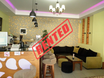 Coffee Bar for rent near Arben Broci Street, in Tirana, Albania.  It has a total surface of 200 m2