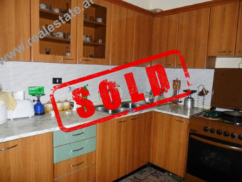 Two bedroom apartment for sale in Tirana.  The apartment is situated on the 3rd floor of a buildin