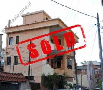 Three storey villa for sale near Karl Topia Square in Tirana.  The villa is located in a wel