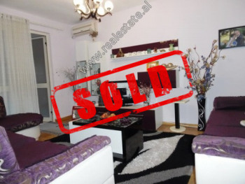 Apartment for sale in Petro Marko street, in front of Harry Fultz school in Tirana.  The apartment