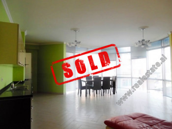 Two bedroom apartment for sale in Medar Shtylla Street in Tirana.  It is located on the 5th floor