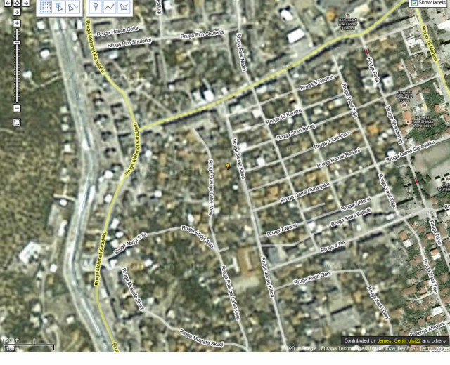 Land plot 500+ SQM for SALE in Janaq Kilica St., Partizani district, Elbasan. The owner holds all pr