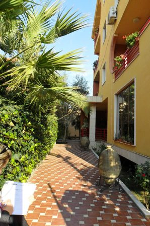 An elegant and stylish villa in a peaceful street in the heart of Tirana, the vi