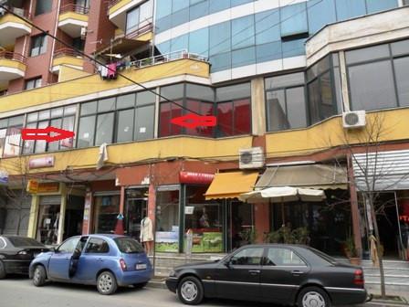 Zyre per shitje ne rrugen Federik Shiroka ne Tirane, me siperfaqe 51 m2, ne katin e dyte te kesaj nd