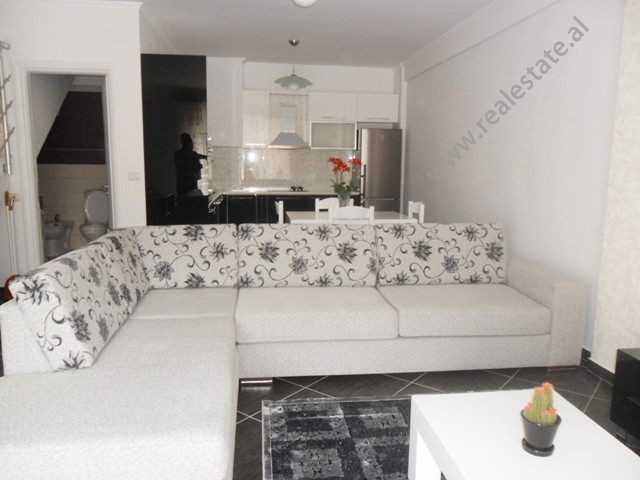 "Dublex apartment for rent in ""Kodra e Diellit"" residence in Tirana.