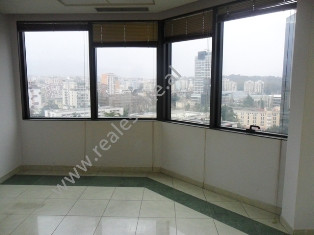 Office space for rent at Twin Towers in Tirana, Albania.