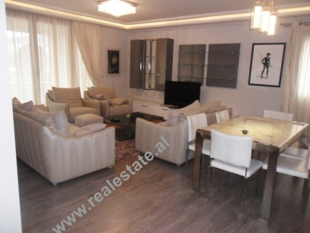 Three bedroom modern apartment for rent in Nobis Center in Tirana, Albania.