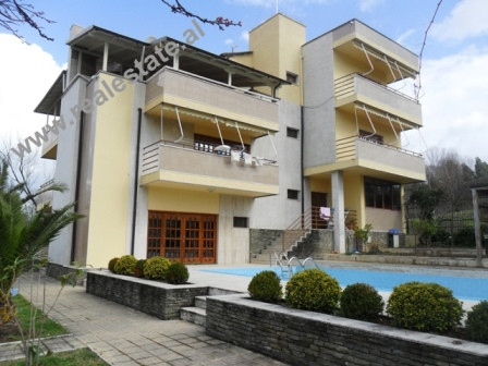 Residence for rent close to Wilson School in Tirana. The residence include 1200 m2 land and 800 m2 o