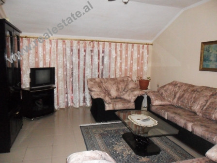 Apartment for rent near Tirana's Park. The apartment is positioned on the 4th floor of an exis