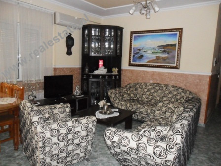 Apartment for rent in Elbasani Street in Tirana. The apartment is positioned on the 3rd floor of a n