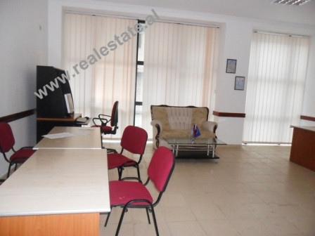 Office space for rent in Tirana. The spaces are positioned on the 2nd floor of a new building, with