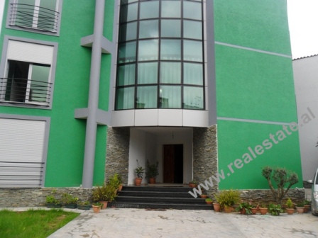 Three storey villa for rent in Tirana. At the entrance of the villa, you will find the green courtya
