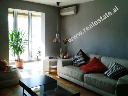 Apartment for rent in Zhan D'Ark boulevard in Tirana. The apartment is situated on the 4th flo