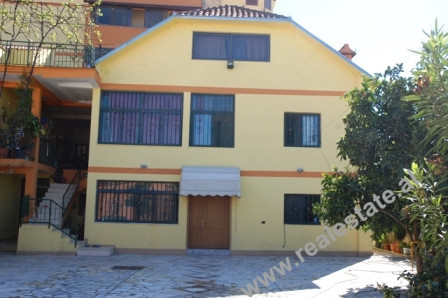 Villa for rent in Tirana. The two storey villa offers green courtyard and parking space. With 140 m2