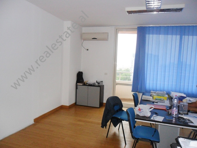 Office space for rent in Sami Frasheri Street in Tirana, Albania. The office is situated on the 10t