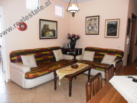 Three bedrooms apartment for rent in Tirana.  The apartment is situated on the 5th floor of the bu